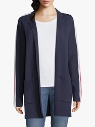 Betty And Co. Long Sporty Cardigan Navy