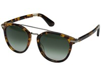 Toms Harlan Havana Tortoise Fashion Sunglasses Green