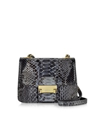 Ghibli Python Mini Carossbody Bag Dark Gray