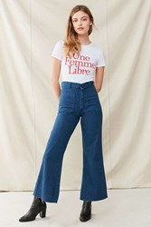 Urban Renewal Vintage Sailor High Rise Flare Jean Indigo