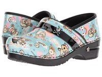 Sanita Koi Dulce Light Blue Clog Shoes