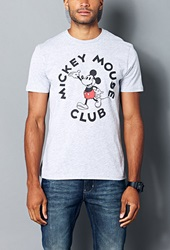 Forever 21 Mickey Mouse Club Tee Heather Grey
