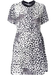 Markus Lupfer Leopard Print Dress White