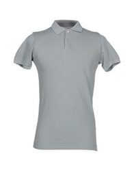 Alpha Massimo Rebecchi Polo Shirts Light Grey