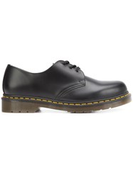 Dr. Martens Stitch Detailing Derbies Black