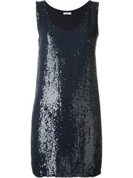 P.A.R.O.S.H. Sequin Party Dress Blue