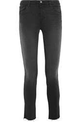J Brand 811 Photo Ready Mid Rise Skinny Jeans Black