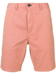 Paul Smith Ps Slim Fit Deck Shorts Pink