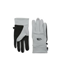 The North Face Etip Glove High Rise Grey Heather Extreme Cold Weather Gloves Gray