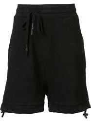 11 By Boris Bidjan Saberi Coated Track Shorts Black