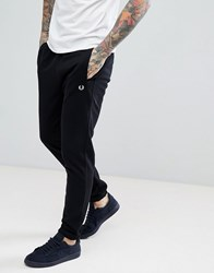 Fred Perry Panel Sweat Joggers In Black