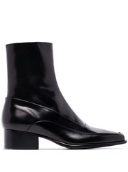 Y Project Square Toe 50Mm Ankle Boots Black