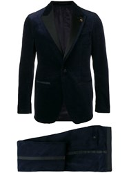 Gabriele Pasini Two Piece Dinner Suit Blue