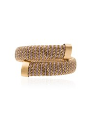 Carolina Bucci Caro Gold Plated Bangle Metallic