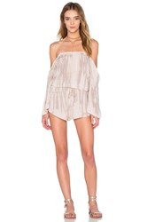 Blue Life Life's A Beach Romper Taupe