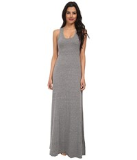 Alternative Apparel Racerback Maxi Dress Eco Grey Gray