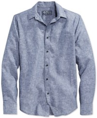 American Rag Long Sleeve Linen Shirt Only At Macy's