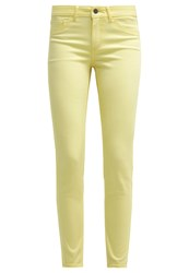 Vila Vicommit Slim Fit Jeans Pale Banana Light Yellow