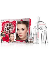 Benefit 6 Pc. Bigger And Bolder Brow Set Medium