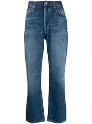 Citizens Of Humanity High Rise Bootcut Jeans Blue