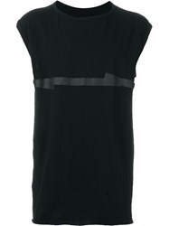 Isaac Sellam Experience Sleeveless T Shirt Black