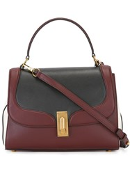 Marc Jacobs Tricolour West End Top Handle Ii Tote Black