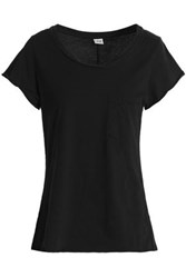 Oak Cotton Jersey T Shirt Black