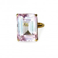 Isabel Englebert Princess Pink Quartz Ring