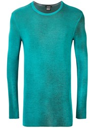 Avant Toi Knit Sweatshirt Blue