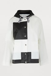 Proenza Schouler Waterproof Coat 10113 White Black