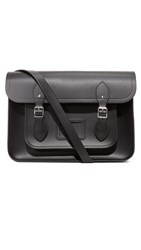 The Cambridge Satchel Company 14 Classic With Magnetic Closure Black
