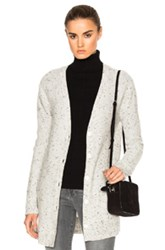 Rag And Bone Tamara Cashmere Cardigan In Gray