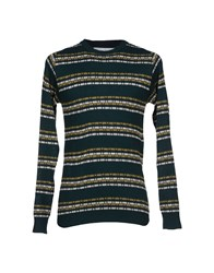 White Mountaineering Knitwear Jumpers Men Dark Green