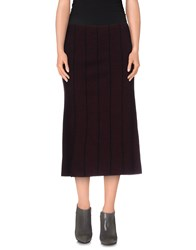 Souvenir Clubbing Skirts 3 4 Length Skirts Women Deep Purple