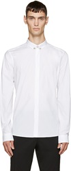 Versus White Pinned Collar Shirt