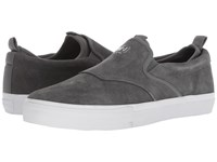 Diamond Supply Co. Boo J Xl Grey Suede Slip On Shoes Gray