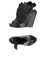 Cinzia Araia Footwear Sandals Women Black