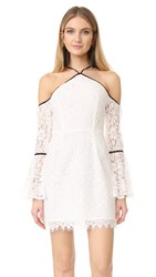 Wayf Monticello Lace Dress Ivory Lace