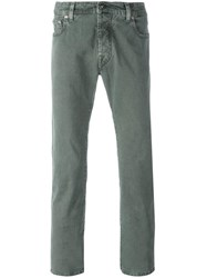 Jacob Cohen Slim Fit 'Model 688' Jeans Green