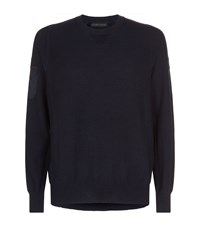 Canada Goose Rutledge Crew Neck Sweater Navy