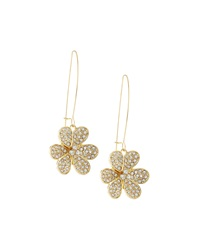 Fragments For Neiman Marcus Fragments Pave Flower Drop Earrings