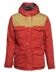 Element Men's Hemlock Cotton Blend Waterproof Jacket Red
