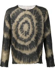 Marni Tie Dye Sweater Black