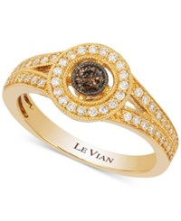 Le Vian Deco Estate Collection Diamond Ring 3 8 Ct. T.W. In 14K Gold Yellow Gold