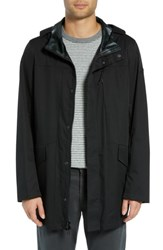 Tumi Packable Water Resistant Raincoat Black