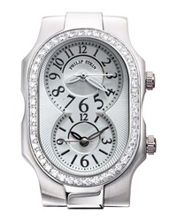 Philip Stein Teslar Philip Stein Small Diamond Signature Watch White Dial