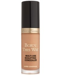 Too Faced Born This Way Super Coverage Multi Use Sculpting Concealer Butterscotch Rich Tan With Golden Undertones