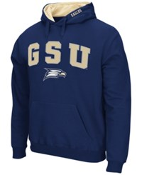 Colosseum Men's Georgia Southern Eagles Arch Logo Hoodie Navy