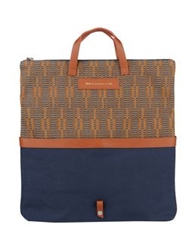 Want Les Essentiels De La Vie Handbags Slate Blue