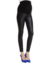 Jessica Simpson Maternity Faux Leather Leggings